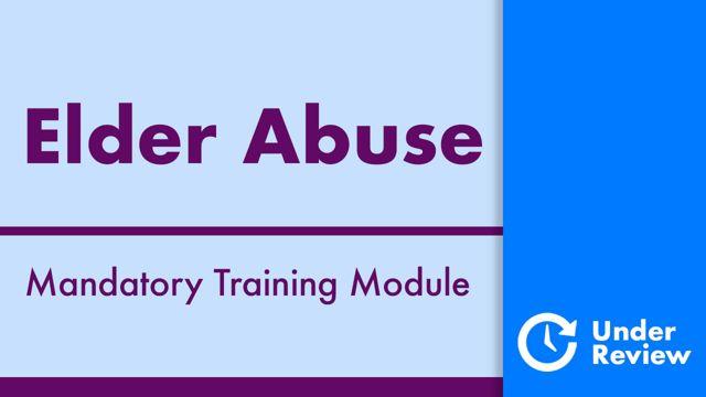 Cover image for: Elder Abuse