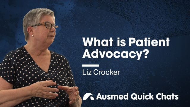 Cover image for lecture: Quick Chats: What is Patient Advocacy?